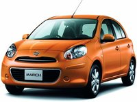 Nissan March 2010 1.2E CVT Car